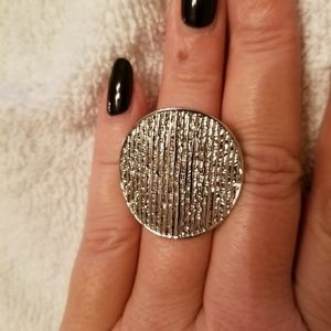 EUC Silver Chico's Ring